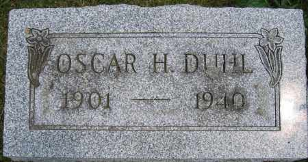 DUHL, OSCAR H. - Union County, Ohio | OSCAR H. DUHL - Ohio Gravestone Photos