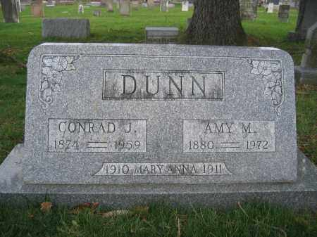 DUNN, AMY M. - Union County, Ohio | AMY M. DUNN - Ohio Gravestone Photos