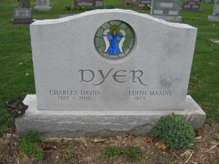 DYER, CHARLES DAVID - Union County, Ohio | CHARLES DAVID DYER - Ohio Gravestone Photos