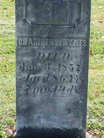 DYNES, CHAMBERS - Union County, Ohio | CHAMBERS DYNES - Ohio Gravestone Photos