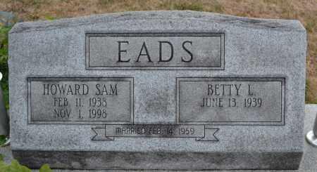EADS, HOWARD SAM - Union County, Ohio | HOWARD SAM EADS - Ohio Gravestone Photos