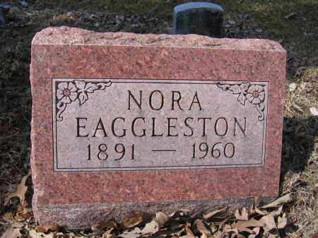 EAGGLESTON, NORA - Union County, Ohio | NORA EAGGLESTON - Ohio Gravestone Photos