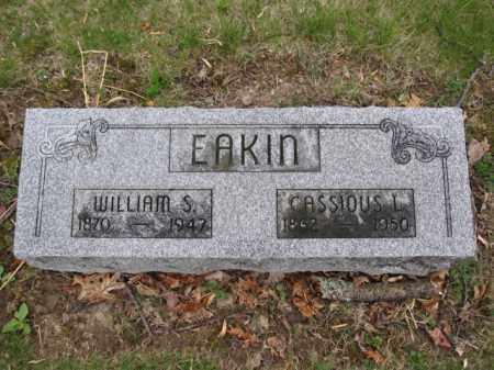 EAKIN, WILLIAM S. - Union County, Ohio | WILLIAM S. EAKIN - Ohio Gravestone Photos