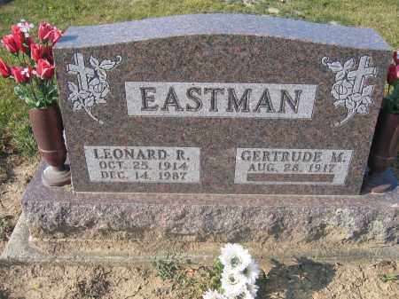 EASTMAN, LEONARD R. - Union County, Ohio | LEONARD R. EASTMAN - Ohio Gravestone Photos