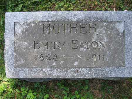 EATON, EMILY - Union County, Ohio | EMILY EATON - Ohio Gravestone Photos