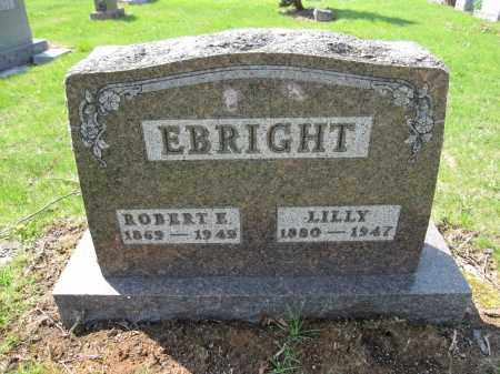 EBRIGHT, ROBERT E. - Union County, Ohio | ROBERT E. EBRIGHT - Ohio Gravestone Photos