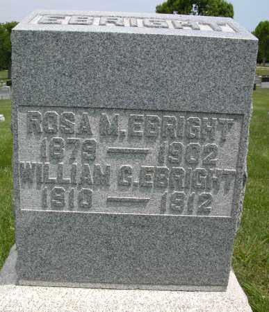 EBRIGHT, ROSA M. - Union County, Ohio | ROSA M. EBRIGHT - Ohio Gravestone Photos