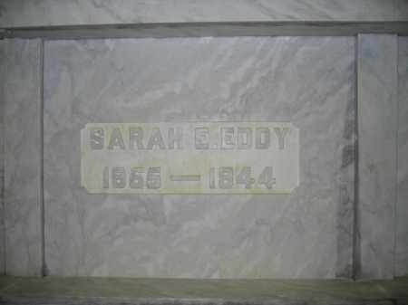 EDDY, SARAH E. - Union County, Ohio | SARAH E. EDDY - Ohio Gravestone Photos
