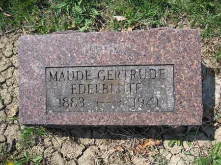 EDELBBLUTE, MAUDE GERTRUDE - Union County, Ohio | MAUDE GERTRUDE EDELBBLUTE - Ohio Gravestone Photos