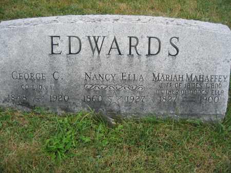 EDWARDS, NANCY ELLA - Union County, Ohio | NANCY ELLA EDWARDS - Ohio Gravestone Photos