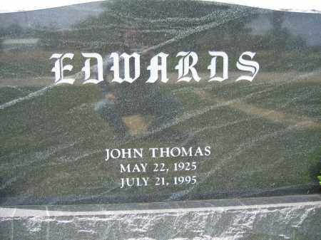 EDWARDS, JOHN THOMAS - Union County, Ohio | JOHN THOMAS EDWARDS - Ohio Gravestone Photos