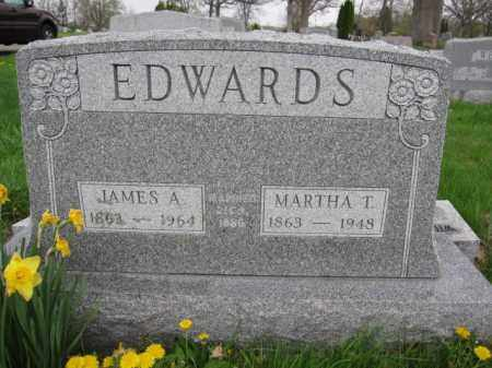 EDWARDS, MARTHA T. - Union County, Ohio | MARTHA T. EDWARDS - Ohio Gravestone Photos