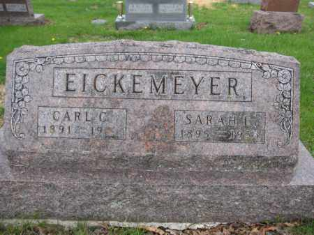 EICKEMEYER, SARAH E. - Union County, Ohio | SARAH E. EICKEMEYER - Ohio Gravestone Photos