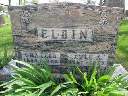 ELBIN, LULU A. - Union County, Ohio | LULU A. ELBIN - Ohio Gravestone Photos