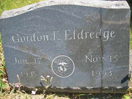 ELDREDGE, GORDON F. - Union County, Ohio | GORDON F. ELDREDGE - Ohio Gravestone Photos