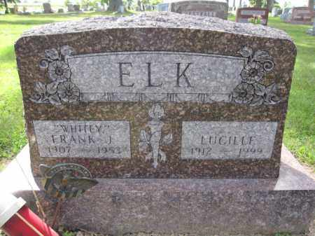 ELK, FRANK J. - Union County, Ohio | FRANK J. ELK - Ohio Gravestone Photos