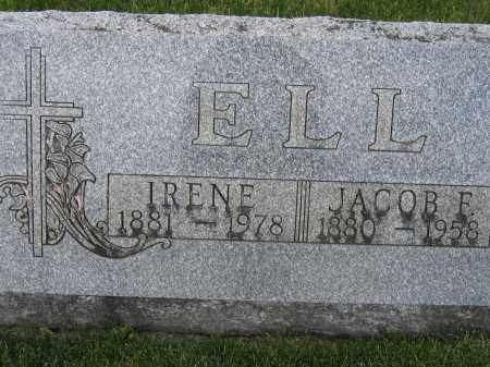 ELL, JACOB F. - Union County, Ohio | JACOB F. ELL - Ohio Gravestone Photos