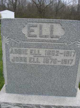 ELL, ABBIE - Union County, Ohio | ABBIE ELL - Ohio Gravestone Photos