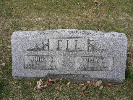 ELL, EMMA L - Union County, Ohio | EMMA L ELL - Ohio Gravestone Photos