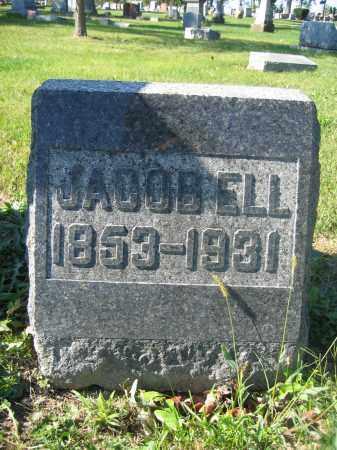 ELL, JACOB - Union County, Ohio | JACOB ELL - Ohio Gravestone Photos