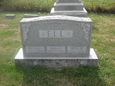ELL, WILLIAM C. - Union County, Ohio | WILLIAM C. ELL - Ohio Gravestone Photos