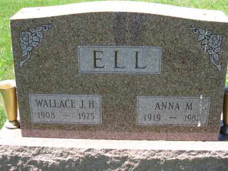 ELL, ANNA M. - Union County, Ohio | ANNA M. ELL - Ohio Gravestone Photos