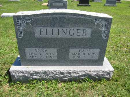 ELLINGER, ANNA - Union County, Ohio | ANNA ELLINGER - Ohio Gravestone Photos