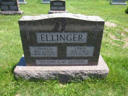 ELLINGER, CORNELIA - Union County, Ohio | CORNELIA ELLINGER - Ohio Gravestone Photos