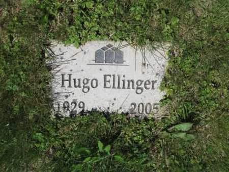 ELLINGER, HUGO - Union County, Ohio | HUGO ELLINGER - Ohio Gravestone Photos