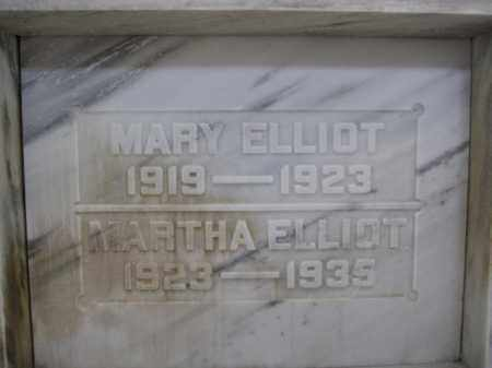 ELLIOT, MARTHA - Union County, Ohio | MARTHA ELLIOT - Ohio Gravestone Photos