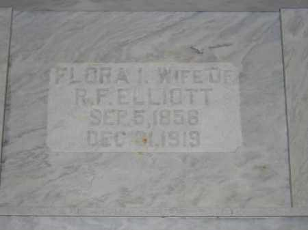 ELLIOTT, FLORA I. - Union County, Ohio | FLORA I. ELLIOTT - Ohio Gravestone Photos