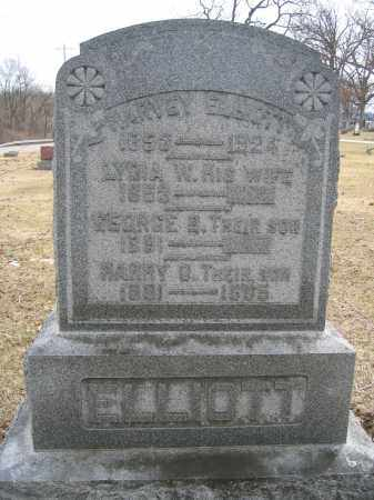 ELLIOTT, HARVEY - Union County, Ohio | HARVEY ELLIOTT - Ohio Gravestone Photos