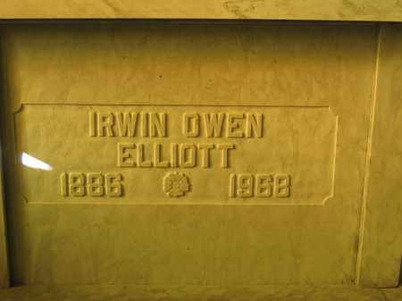 ELLIOTT, IRWIN OWEN - Union County, Ohio | IRWIN OWEN ELLIOTT - Ohio Gravestone Photos