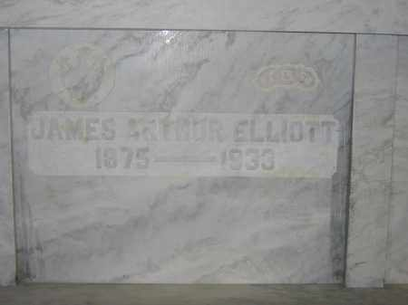 ELLIOTT, JAMES ARTHUR - Union County, Ohio | JAMES ARTHUR ELLIOTT - Ohio Gravestone Photos