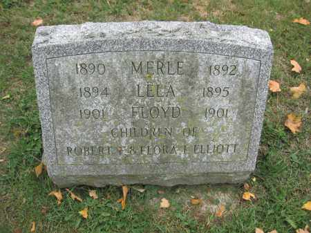 ELLIOTT, LELA - Union County, Ohio | LELA ELLIOTT - Ohio Gravestone Photos