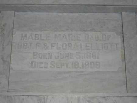 ELLIOTT, MABLE MARIE - Union County, Ohio | MABLE MARIE ELLIOTT - Ohio Gravestone Photos