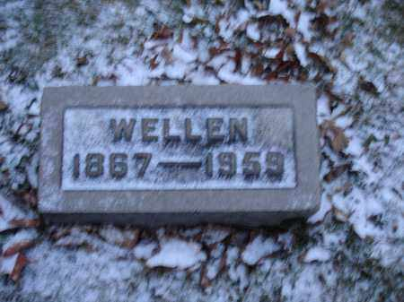 ELLIOTT, WELLEN THOMAS - Union County, Ohio | WELLEN THOMAS ELLIOTT - Ohio Gravestone Photos