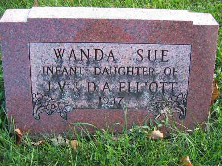 ELLIOTT, WANDA SUE - Union County, Ohio | WANDA SUE ELLIOTT - Ohio Gravestone Photos