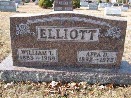 ELLIOTT, AFFA D. - Union County, Ohio | AFFA D. ELLIOTT - Ohio Gravestone Photos