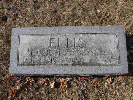 LEGG ELLIS, TESSIE L - Union County, Ohio | TESSIE L LEGG ELLIS - Ohio Gravestone Photos