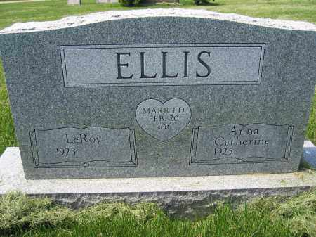 ELLIS, ANNA CATHERINE - Union County, Ohio | ANNA CATHERINE ELLIS - Ohio Gravestone Photos