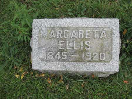 ELLIS, MARGARET A. - Union County, Ohio | MARGARET A. ELLIS - Ohio Gravestone Photos