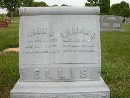 ELLIS, JOHN B. - Union County, Ohio | JOHN B. ELLIS - Ohio Gravestone Photos