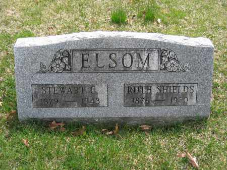 ELSOM, RUTH SHIELDS - Union County, Ohio | RUTH SHIELDS ELSOM - Ohio Gravestone Photos