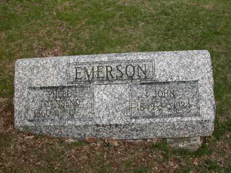 EMERSON, JOHN - Union County, Ohio | JOHN EMERSON - Ohio Gravestone Photos