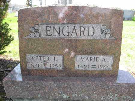ENGARD, PETER T. - Union County, Ohio | PETER T. ENGARD - Ohio Gravestone Photos