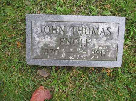 ENGLE, JOHN THOMAS - Union County, Ohio | JOHN THOMAS ENGLE - Ohio Gravestone Photos
