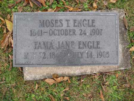 ENGLE, MOSES T. - Union County, Ohio | MOSES T. ENGLE - Ohio Gravestone Photos
