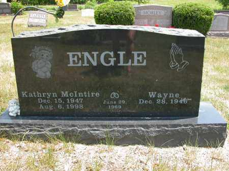 ENGLE, WAYNE - Union County, Ohio | WAYNE ENGLE - Ohio Gravestone Photos