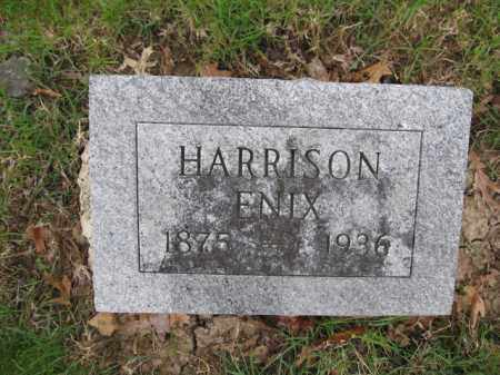 ENIX, HARRISON - Union County, Ohio | HARRISON ENIX - Ohio Gravestone Photos